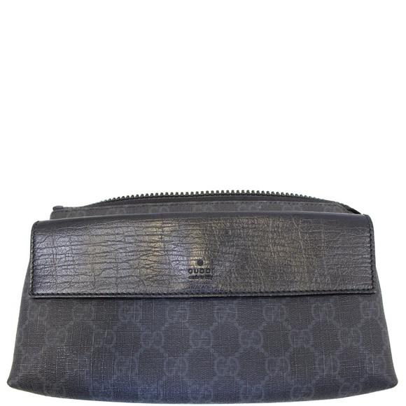 c11f477eaf4f Gucci Bags | Gg Supreme Monogram Waist Black Bum Bag | Poshmark